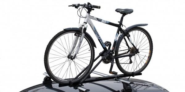Крепление для перевозки велосипеда на крыше Рено Дастер
