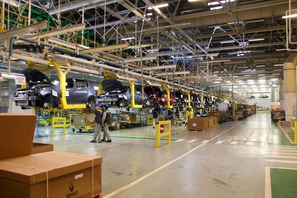 Все модели Renault собираются на одной линии