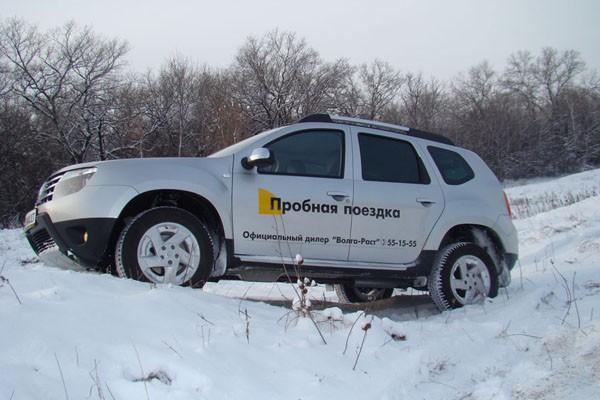 Renault Duster дизель зимой