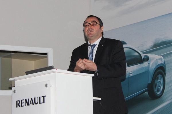 Заместитель генерального директора Renault в России Дени Левот
