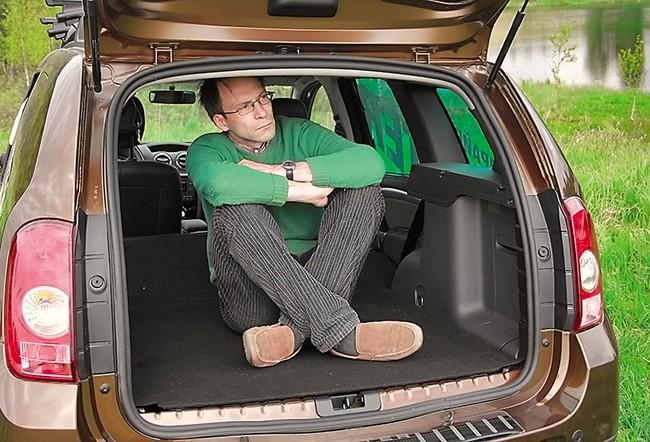 Renault Duster 2.0 MT багажник