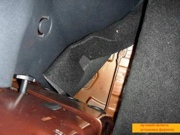 Заглушки в багажнике