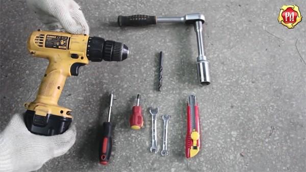 Инструменты для установки расширителей