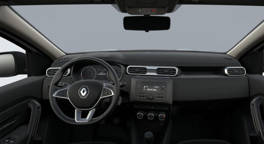 Renault Duster 2 Lfe салон