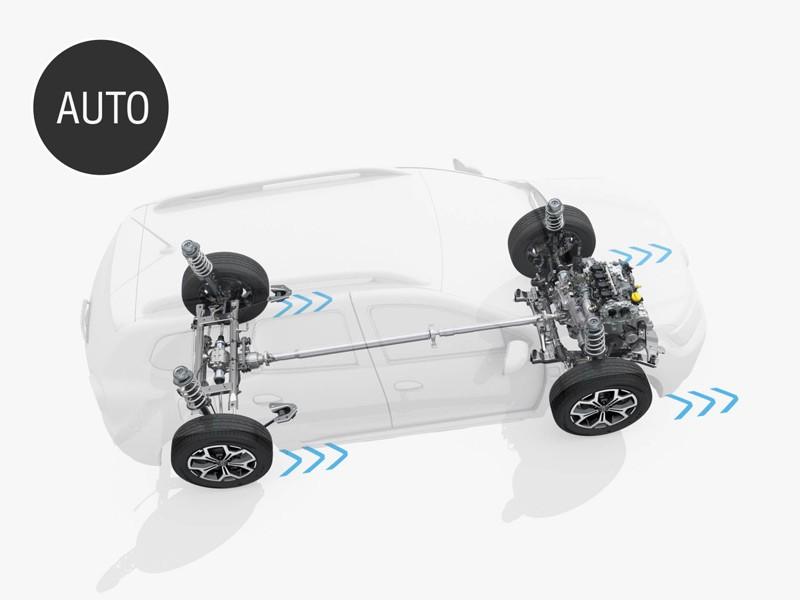 Renault Duster 2 полный привод