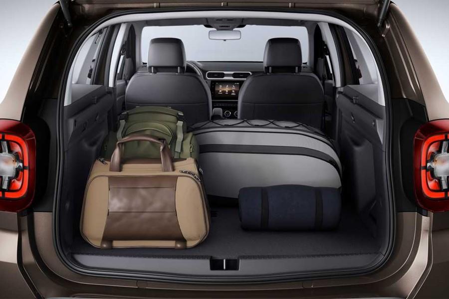 Renault Duster 2 багажник