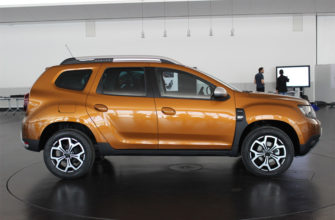 Renault Duster 2 вид сбоку