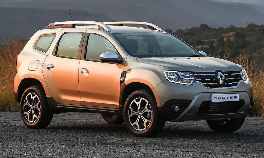 Renault Duster 2 вид спереди