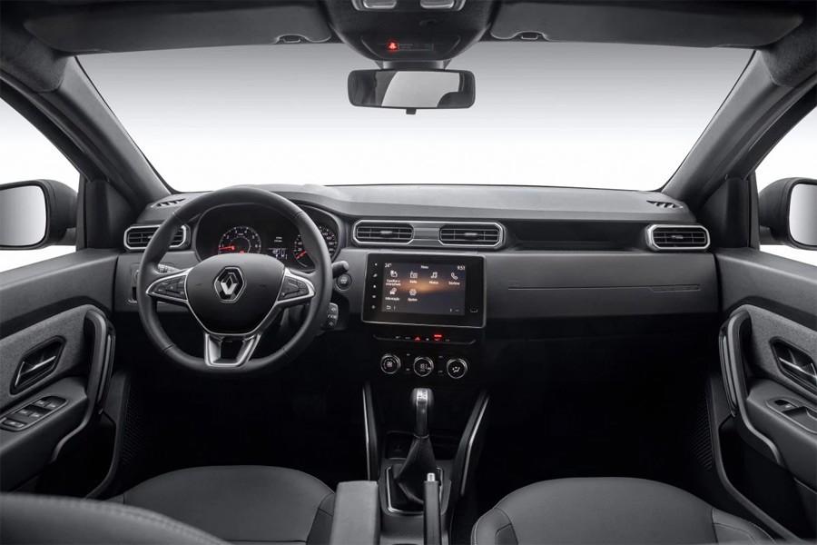 Renault Duster 2 интерьер