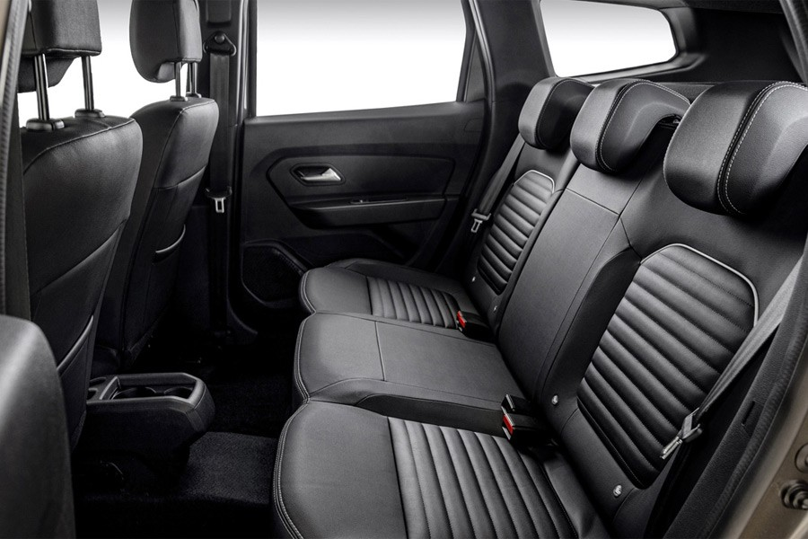Renault Duster 2 задний ряд сидений