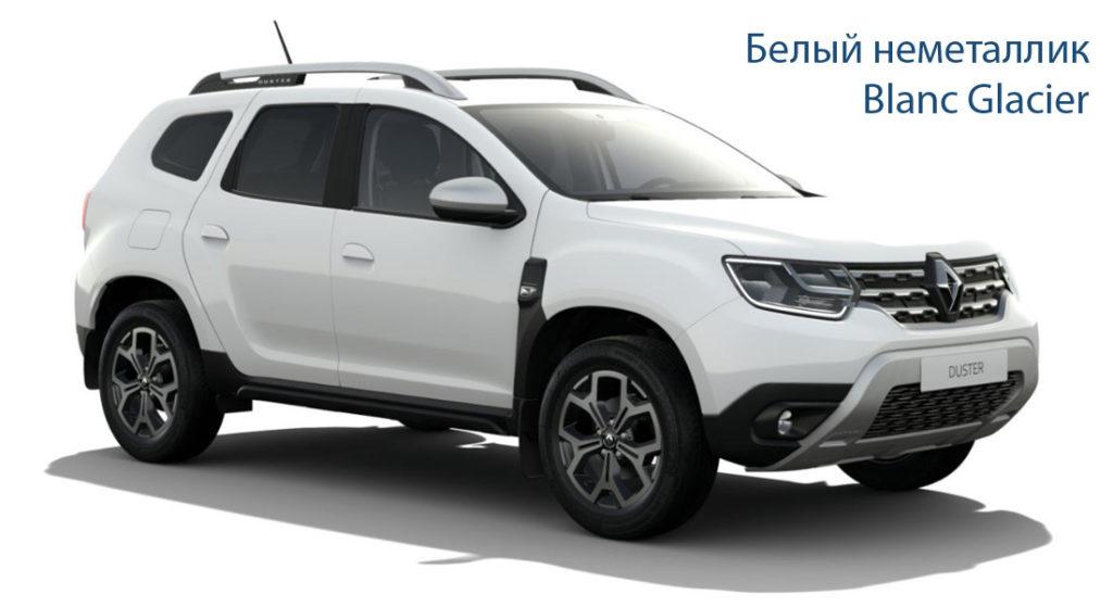 Renault Duster 2 Белый